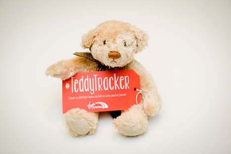 Toy Tracking Services - Virgin Trains Introduces the Teddy Tracker to Prevent Lost Toys