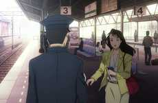 Railway-Commemorating Animes