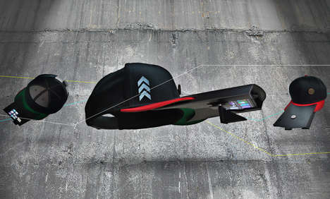 Augmented Reality Hats - Hattrickwear Offers an Alternative to Google Glass