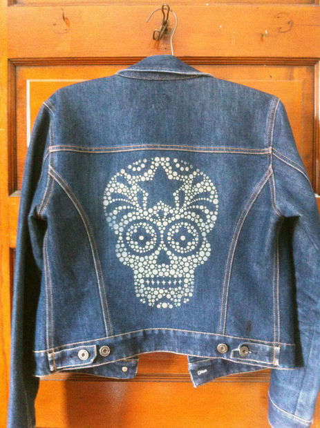 Laser-Printed Jackets - These DIY Denim Jackets Come With an Skull Design Made by a Laser