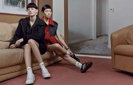 Apathetic Athletic Editorials - The W August 2014 Banal Plus Photoshoot is Entirely Uncaring