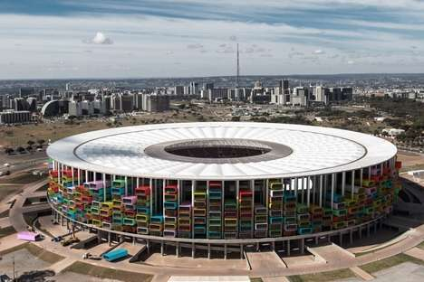 Stadium Housing Complexes - Casa Futebol Turns Unused Soccer Arenas into Low-Income Homes