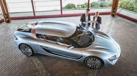 Saltwater-Powered Supercars - The Quant e-Sportlimousine is Powered by NanoFlowcell Technology