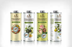 Stylish Fertilizer Packaging - The Garden Packaging for Eco World Fertilizer is Chic