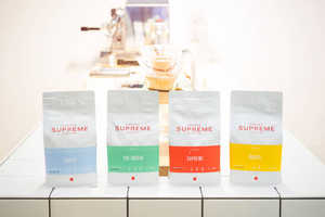 The Colorful Coffee Bag Designs for Coffee Supreme Are Vibrant and Minimal