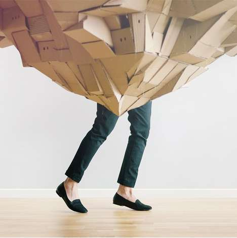 Floating Cardboard Cities - Nina Lindgren
