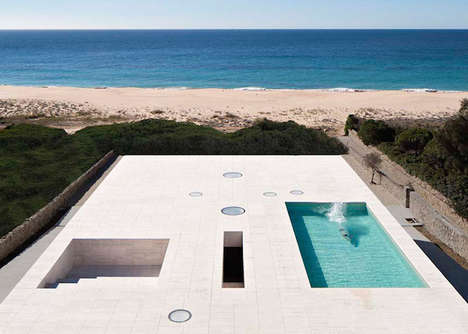 Modern Paradise Homes - House of Infinite by Alberto Campo Baeza is Spaciously Serene