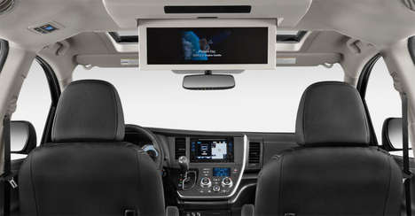 Speech-Amplifying Autos - The 2015 Toyota Sienna Comes with a Driver Easy Speak Feature