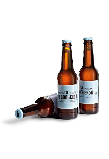 Salty Brew Branding - Labels for Er Boqueron