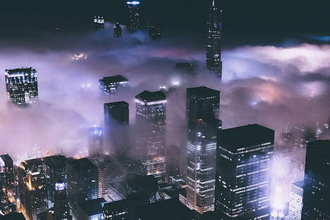 Cloudy Cityscape Captures - Michael Salisbury