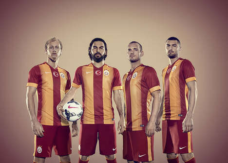 Dynamic Soccer Jerseys - The Beautiful New Galatasaray Jersey was Designed by Nike