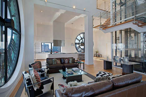 Clock Tower Apartment - This Stunning Brooklyn Loft by David Walentas is Contemporarily Luxurious