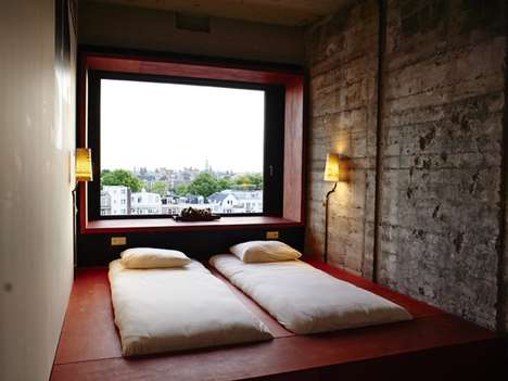Industrial Hipster Hotels - Amsterdam's Volkshotel Transforms the City's Urban Resort Concept
