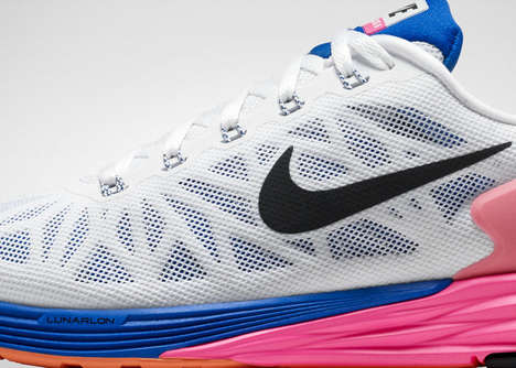 Responsive Cushioned Kicks - The Nike LunarGlide 6 Offers Soft Cushioning and Enhanced Stability
