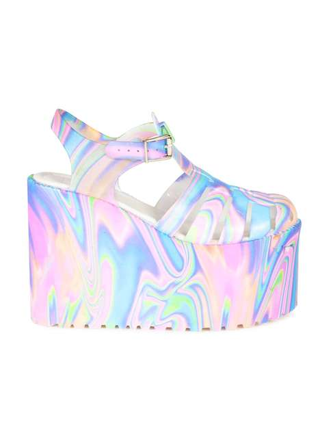 Psychedelic Space Shoes - UNIF
