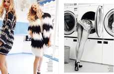 Glam Laundromat Editorials
