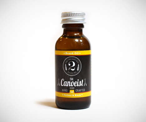 Handcrafted Beard Oils - The Canoeist Face Essential Oil is Designed Exclusively for Burly Beards