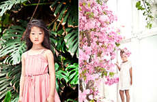 Whimsically Bohemian Lookbooks - The Morley Kids Summer 2014 Collection is Cute and Stylish