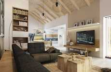 Contemporary Country Abodes