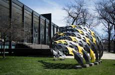 Carbon Fiber Pavilions