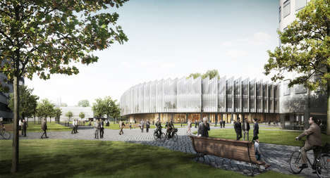 Zig-Zag Architecture - Herzog & de Meuron Present an Interesting Shape for Astrazeneca