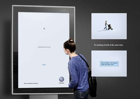 Distracting Text Ads - VW