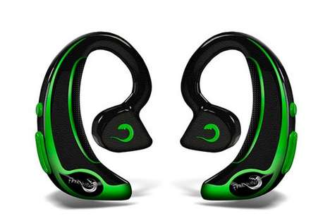 Fitness-Monitoring Headphones - The FreeWavz Earphones Are Perfect for Conscientious Gym-Goers