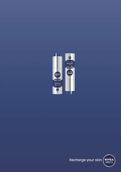 Energetic Skincare Ads - This Nivea Men Skincare Ad Shows How Revitalizing Its Products Are