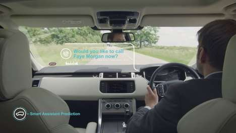 Ingenious Driving Technology - The Jaguar Land Rover Smart Assistant Helps Minimize Driver Error