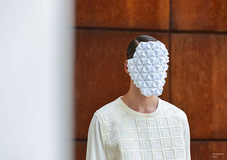 35 Examples of Artful Paper Couture - From Scrunched Paper Bag Attire to Cardboard Jewelry Pieces