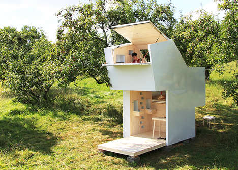 Minimalist Mobile Shelters - The Soul Box is a Mobile House That