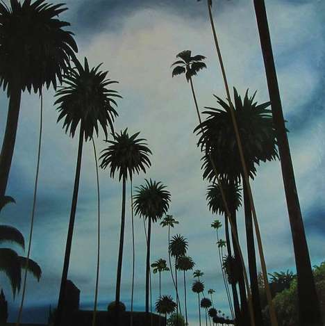 Photo-Inspired LA Paintings - Bradley Hankey's Minimalist Art Series Embodies a Californian Mood