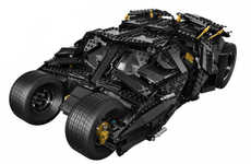 Superhero LEGO Vehicles