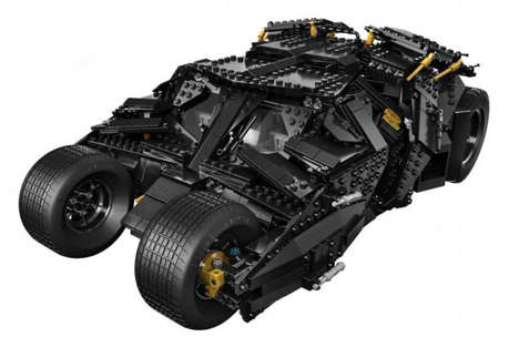 Superhero LEGO Vehicles - The Latest LEGO Batman Tumbler Car is Built From 1,896 Pieces
