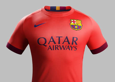 Blinding Soccer Jerseys - Spanish Soccer Team Barcelona