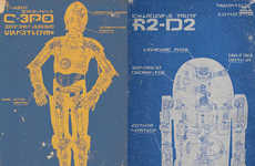 This Star Wars Droid Poster Set from Etsy is Fan-Approved