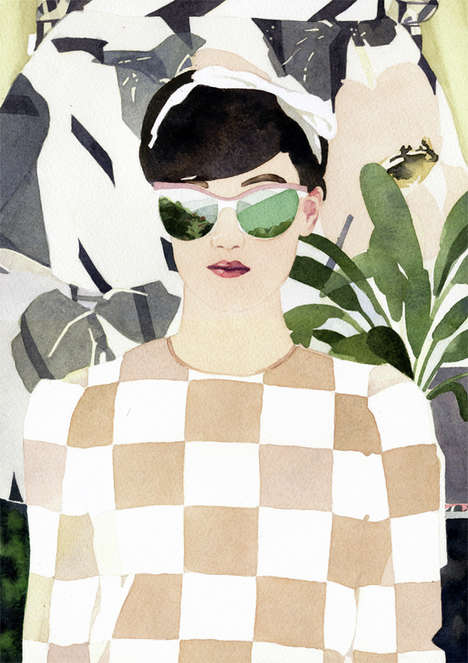 Sophisticated Safari Illustrations - Marcel George