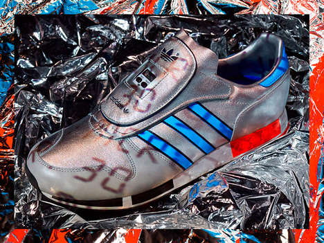 Tech-Integrated Sneaker Revivals - Adidas Originals' Re-Releases Their Iconic OG Micropacer Shoe