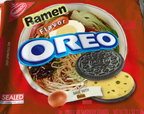 Fake Cookie Flavors - These Mock Oreo Cookie Flavors Celebrate National Junk Food Day