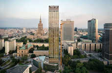 The Cosmopolitan Twarda in Warsaw Does Not Stick Out