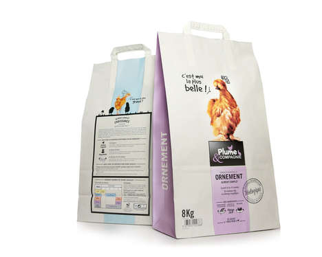 Poultry Food Packaging - Plume and Compagnie