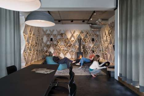 Industrial Loft Headquarters - The SoundCloud Offices Embody an Unfinished Appeal