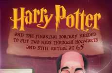 Fictitious Wizard Book Covers - This Funny Harry Potter Artwork Series Hones in on Adulthood