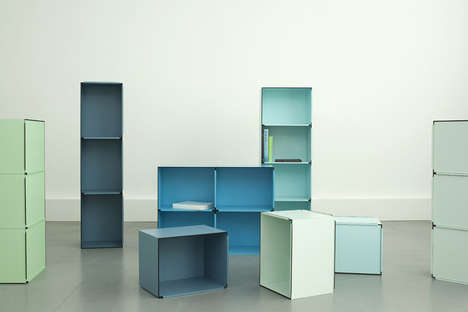 Versatile Storage Shelves - Fritz und Franken Develop