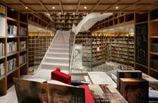 Exclusive Travel Libraries - Hyundai Card's Members-Only Library Design Inspires Wanderlust