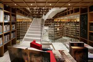 Hyundai Card's Members-Only Library Design Inspires Wanderlust