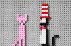 Pop Culture LEGO Cats