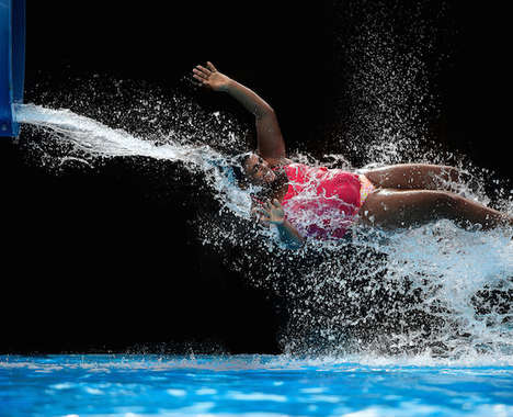 Water Slide Photography