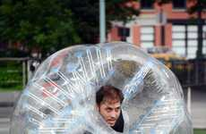 Protective Sport Spheres - The BubbleBall is an Outfit that Minimizes Injuries and Increases Fun