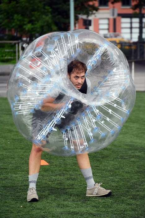 Bumping Bubble Sports - Bubble Ball is the Sport of the Future